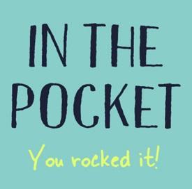 Kaartje geslaagd in the pocket